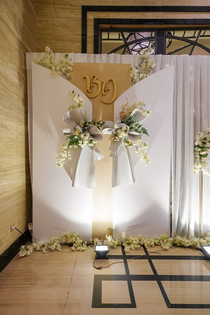 THE WEDDING OF B & D by GLORIOSA DECORATION - 001