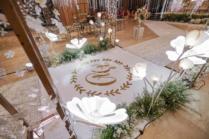 THE WEDDING OF B & D by GLORIOSA DECORATION - 002