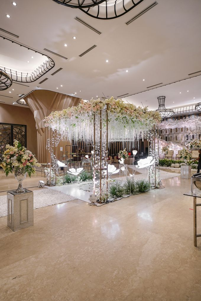 THE WEDDING OF B & D by GLORIOSA DECORATION - 003