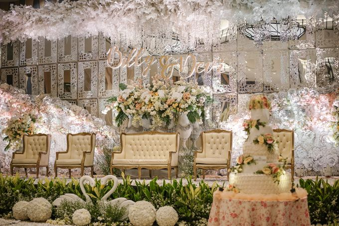 THE WEDDING OF B & D by GLORIOSA DECORATION - 007