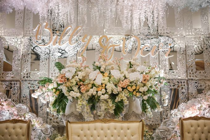THE WEDDING OF B & D by GLORIOSA DECORATION - 009