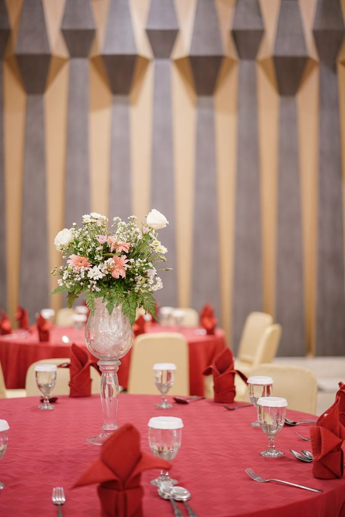 THE WEDDING OF B & D by GLORIOSA DECORATION - 010