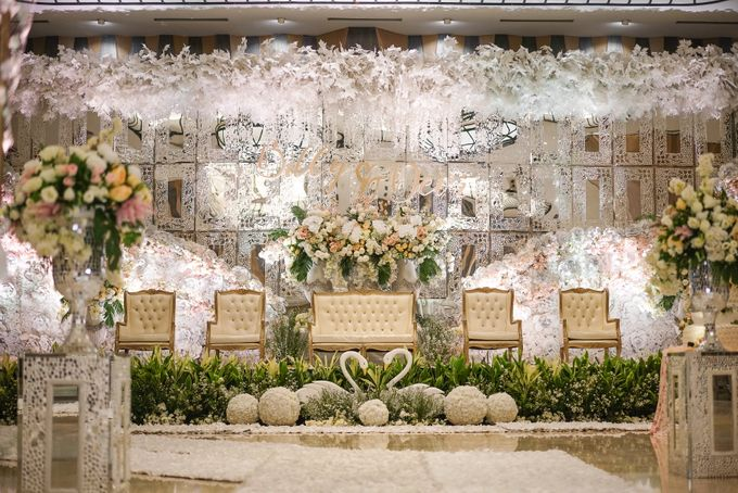 THE WEDDING OF B & D by GLORIOSA DECORATION - 011
