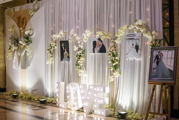 THE WEDDING OF B & D by GLORIOSA DECORATION - 014