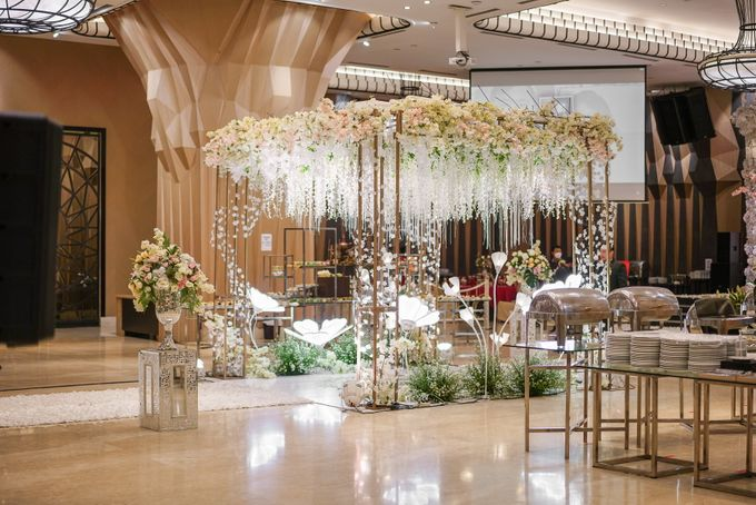 THE WEDDING OF B & D by GLORIOSA DECORATION - 017