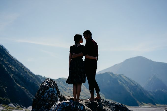 Melinda & Marcell - Bromo Mountain by ELNATH - 009