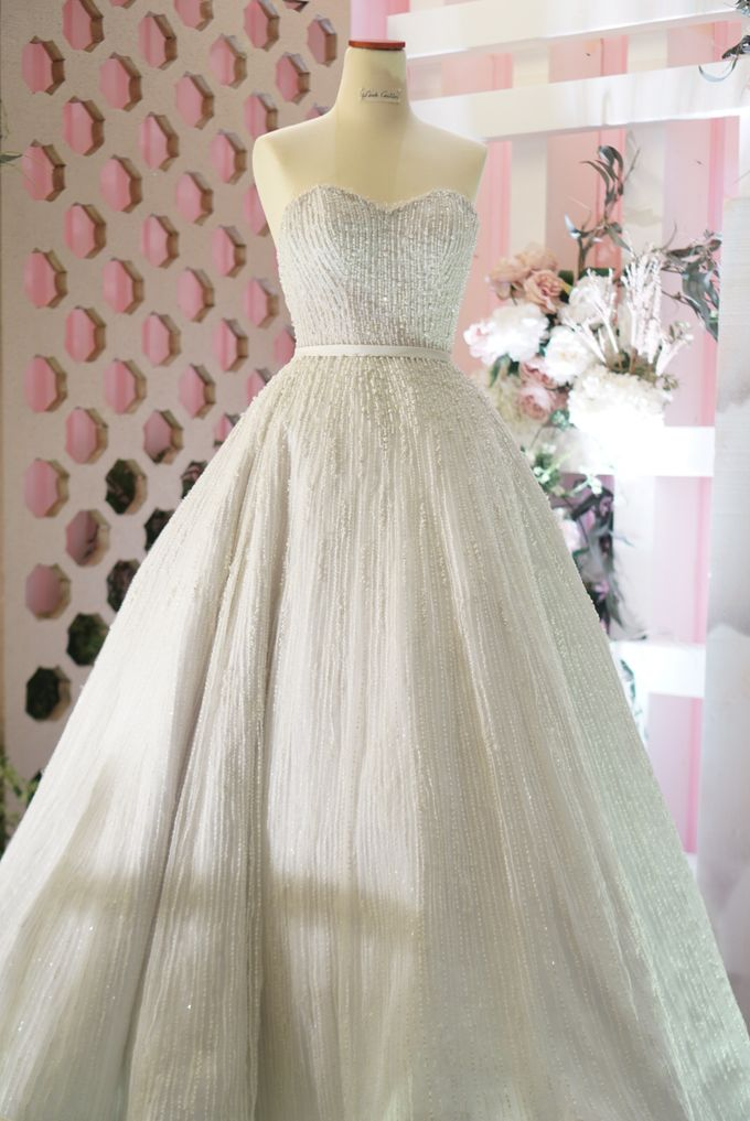 Vertical pearl Ballgown by iLook ( Makeup & Couture ) - 002