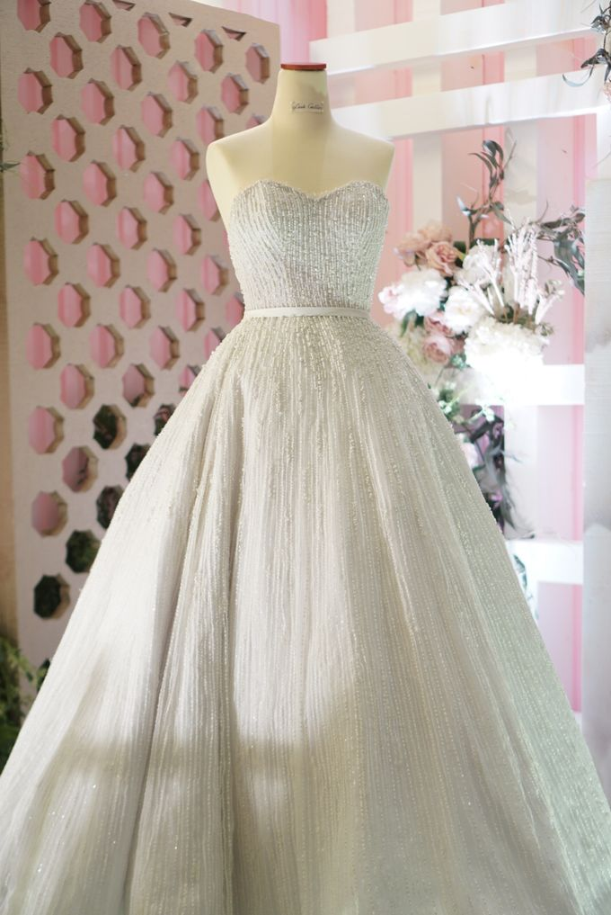 Vertical pearl Ballgown by iLook ( Makeup & Couture ) - 003