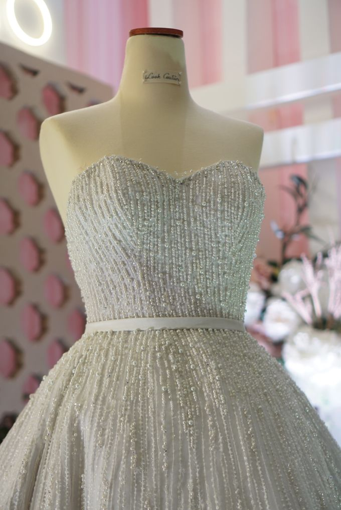 Vertical pearl Ballgown by iLook ( Makeup & Couture ) - 004