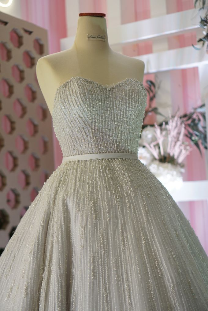 Vertical pearl Ballgown by iLook ( Makeup & Couture ) - 005