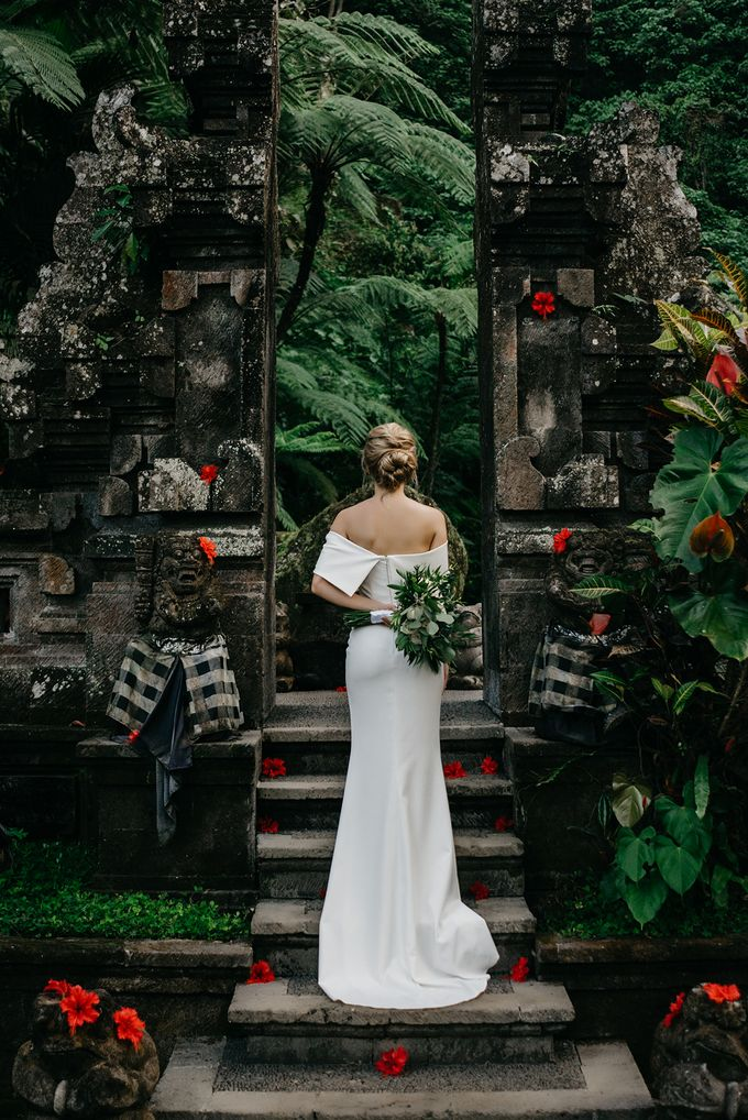 Wedding in Ubud Bali by Mariyasa - 003