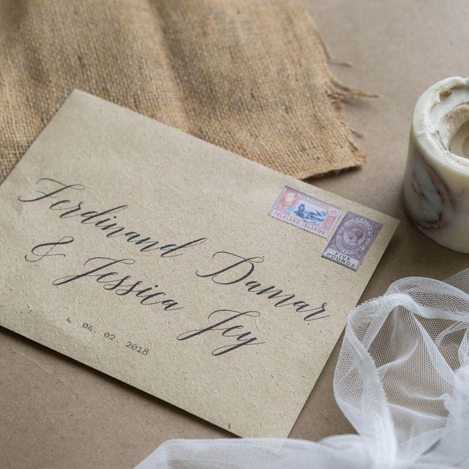 Wedding Invitation - Classic Broken White by Kanoo Paper & Gift - 001