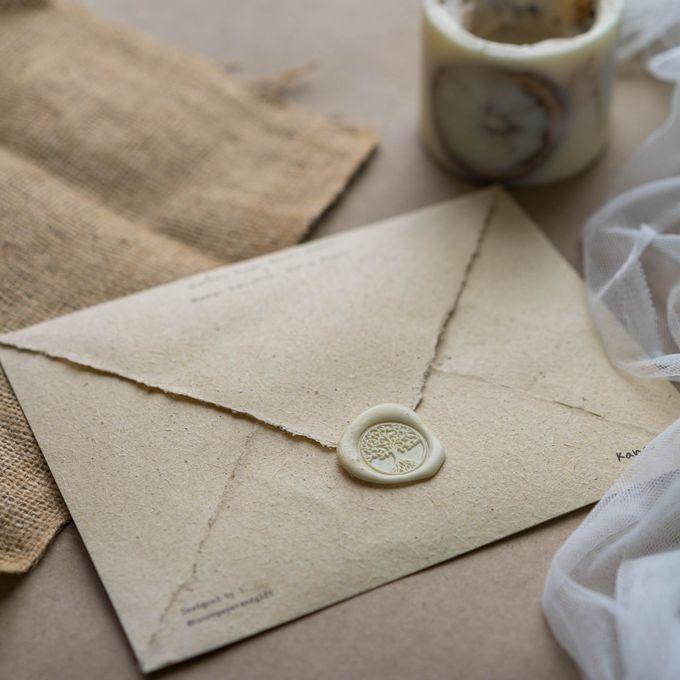 Wedding Invitation - Classic Broken White by Kanoo Paper & Gift - 002