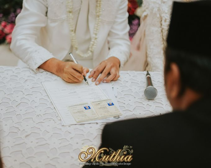 Wedding Of Tiari & Yoga by Muthia Catering - 033