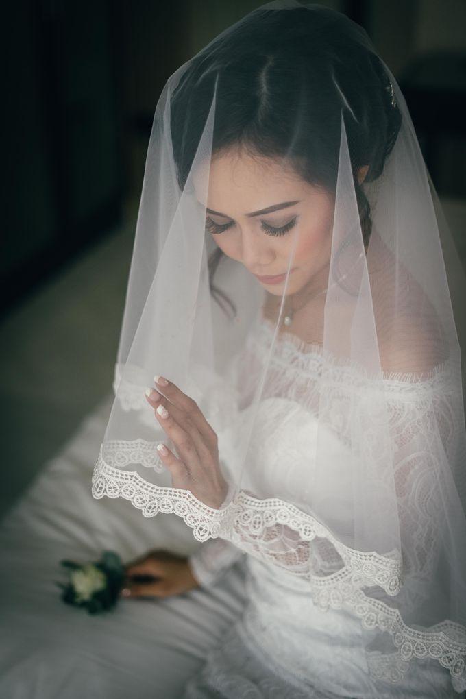 The Wedding Of Yonas And Priska by Chesara Makeup - 004