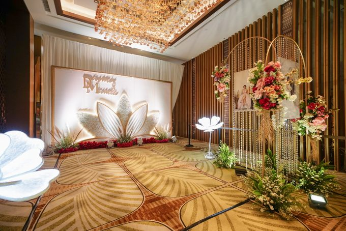 THE WEDDING OF D & M by GLORIOSA DECORATION - 002