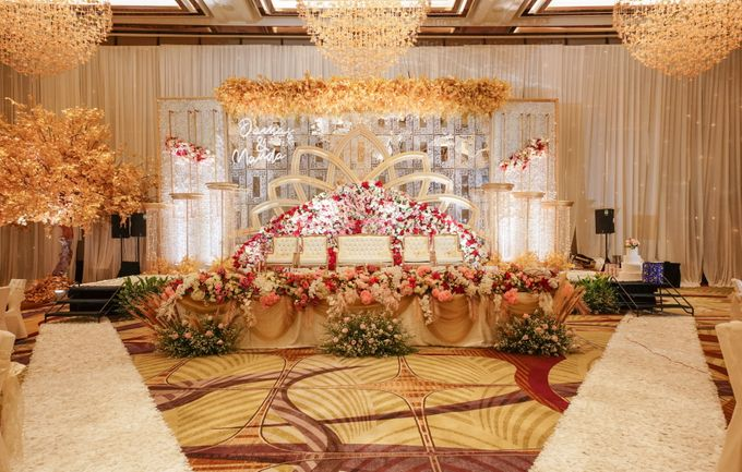 THE WEDDING OF D & M by GLORIOSA DECORATION - 007