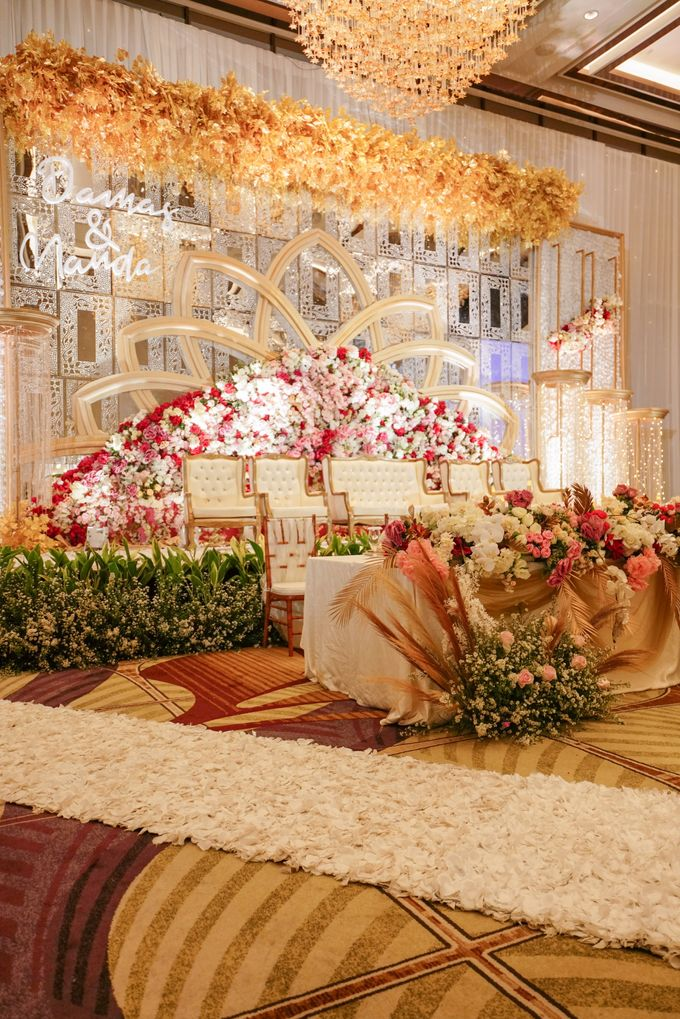 THE WEDDING OF D & M by GLORIOSA DECORATION - 008
