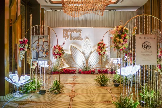 THE WEDDING OF D & M by GLORIOSA DECORATION - 023