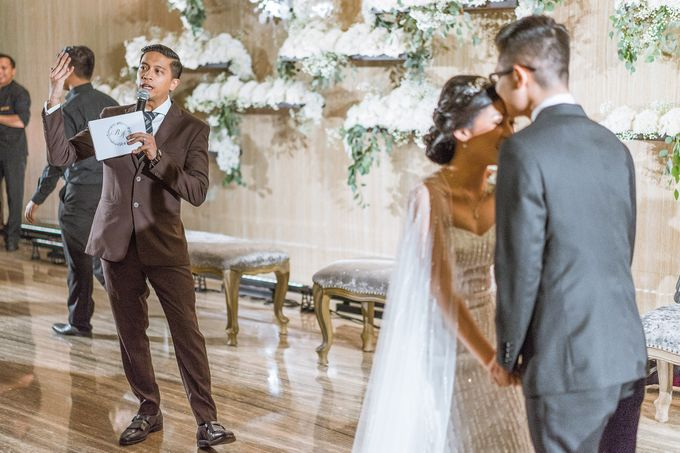 Reggie & Audria Wedding at On Five, Grand Hyatt Hotel Jakarta by Bernardo Pictura - 001