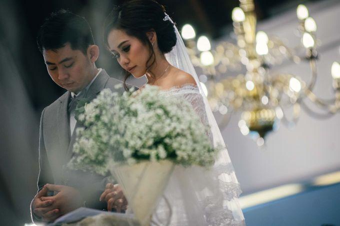 The Wedding Of Yonas And Priska by Chesara Makeup - 005