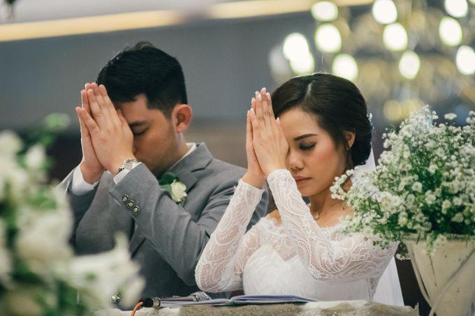 The Wedding Of Yonas And Priska by Chesara Makeup - 006