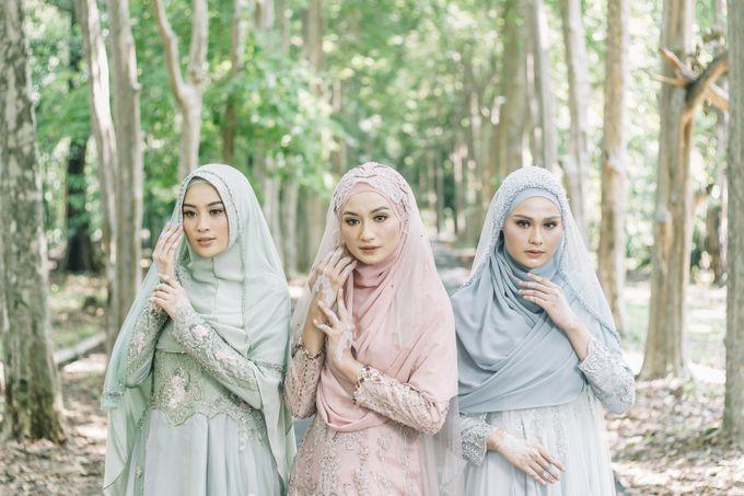 Dress Gaun Resepsi Gamis Ottoman Series by LAKSMI - Kebaya Muslimah & Islamic Bride - 004