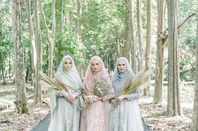 Dress Gaun Resepsi Gamis Ottoman Series by LAKSMI - Kebaya Muslimah & Islamic Bride - 006