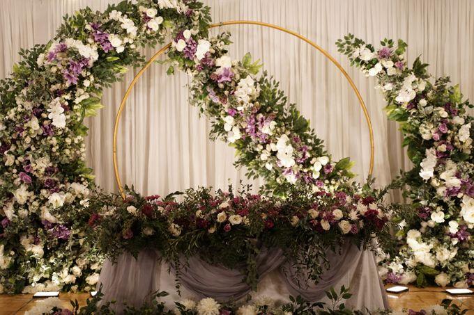 Ivandi & Kessia Wedding At On Five Grand Hyatt by Fiori.Co - 002