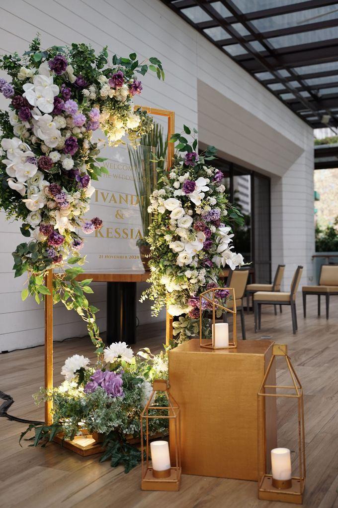 Ivandi & Kessia Wedding At On Five Grand Hyatt by Fiori.Co - 008