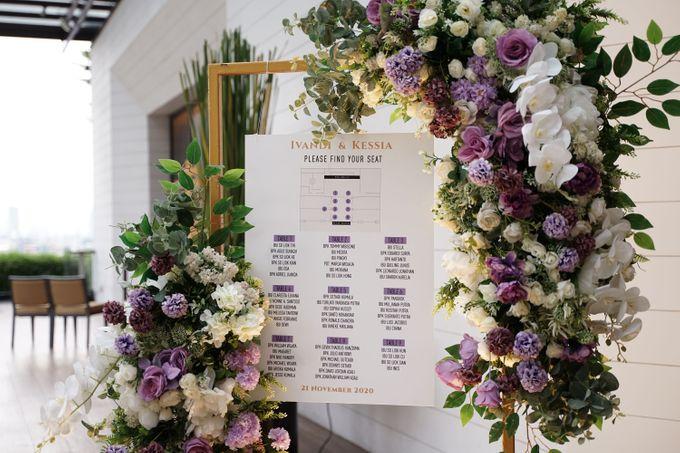 Ivandi & Kessia Wedding At On Five Grand Hyatt by Fiori.Co - 011