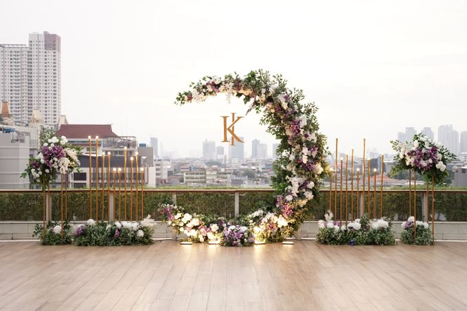 Ivandi & Kessia Wedding At On Five Grand Hyatt by Fiori.Co - 012