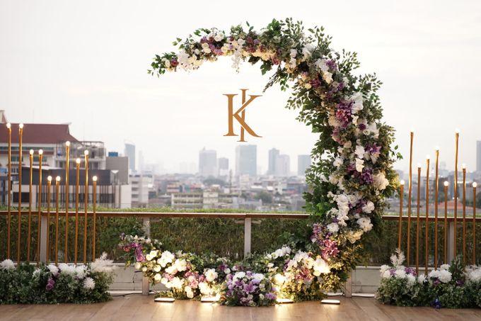 Ivandi & Kessia Wedding At On Five Grand Hyatt by Fiori.Co - 014