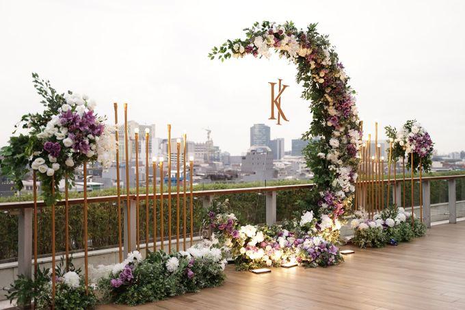 Ivandi & Kessia Wedding At On Five Grand Hyatt by Fiori.Co - 016