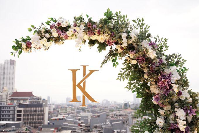 Ivandi & Kessia Wedding At On Five Grand Hyatt by Fiori.Co - 015