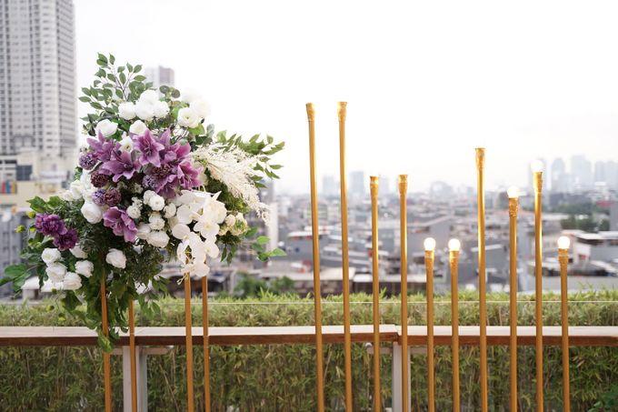 Ivandi & Kessia Wedding At On Five Grand Hyatt by Fiori.Co - 017