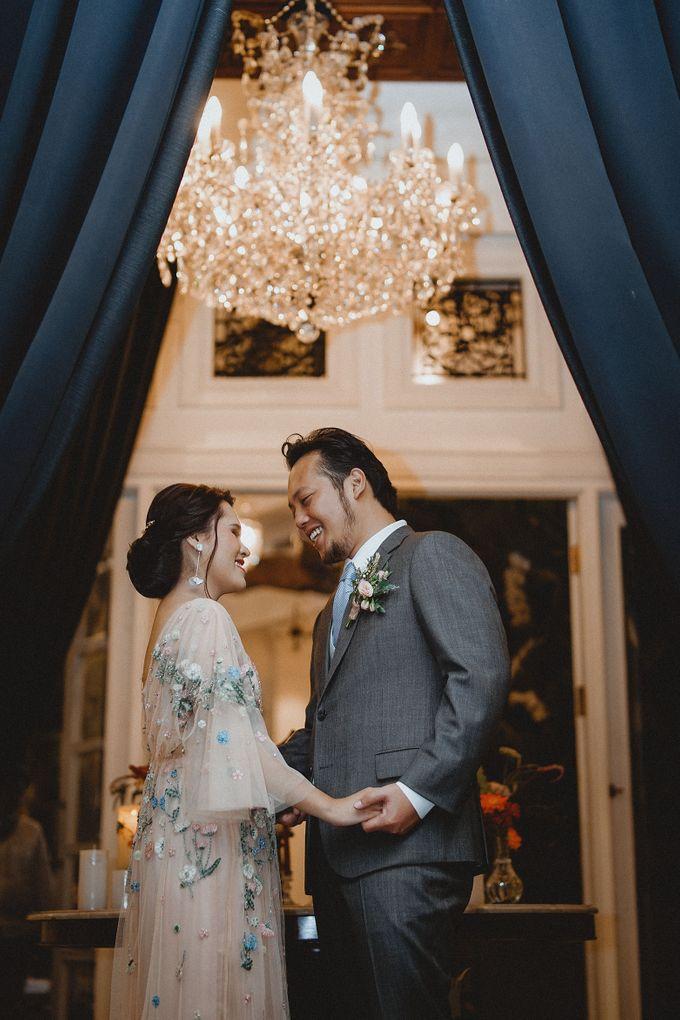 Cempaka Dimaz Wedding by WIT Wear It Too - 028