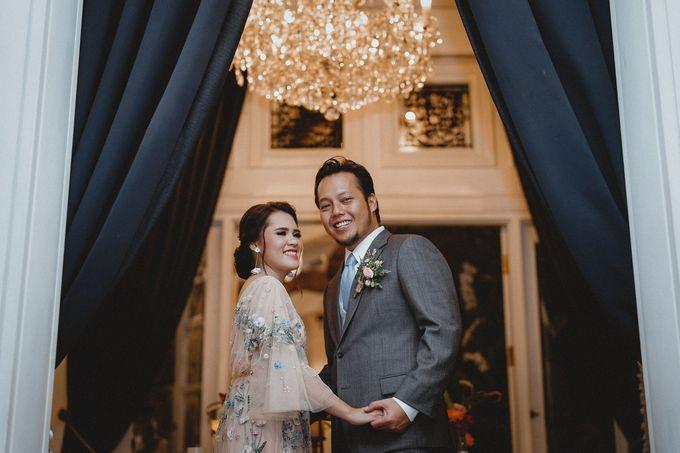 Cempaka Dimaz Wedding by WIT Wear It Too - 029