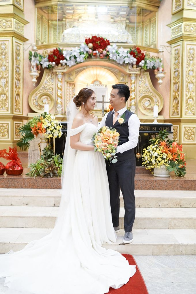 Peach Wedding - Marvin & Jejomarie 1.8.2018 by Icona Elements Inc. ( an Events Company, Wedding Planning & Photography ) - 003