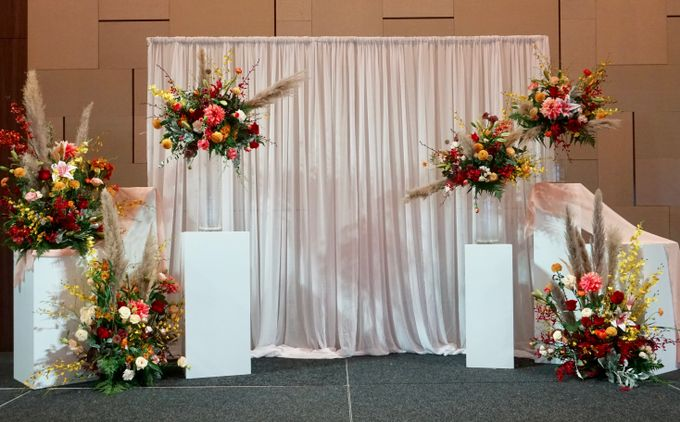 Cephas and Ann Wedding at Tanah Merah Country Club by Bloomwerks - 004