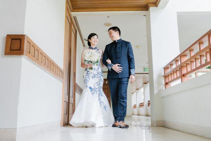 The Wedding Of Alexander & Veriana by Hilton Bali Resort - 010