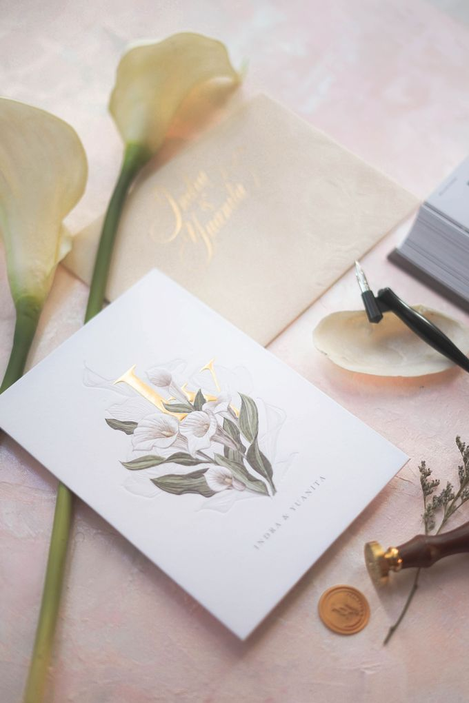 Beautiful in His time -  invitation for Yuanita and Indra - Jakarta by Memento Idea - 002