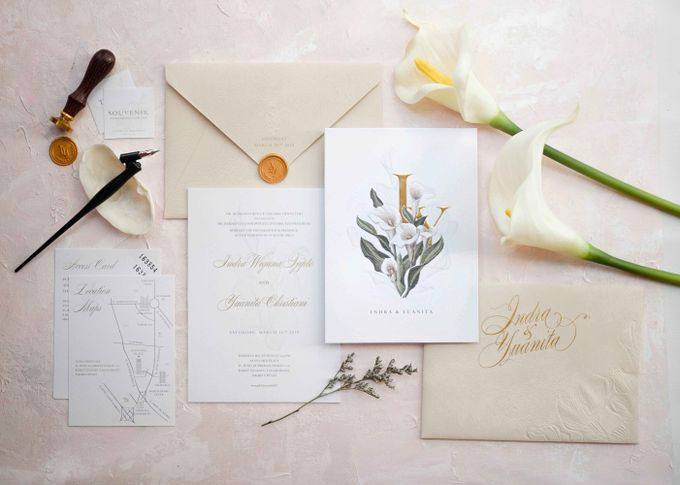 Beautiful in His time -  invitation for Yuanita and Indra - Jakarta by Memento Idea - 005