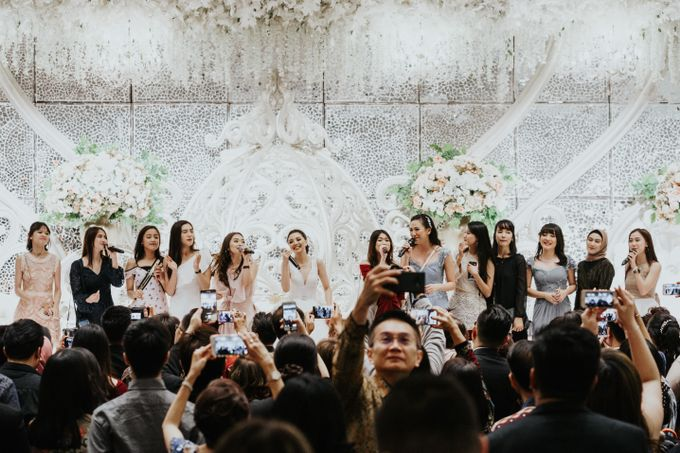 The Wedding of Echa Soemantri & Jessica Vania - ex JKT 48 by Pizzaro Sensation Design - 011