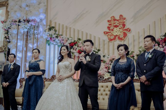 The Wedding Of Fransisca & Edi by Favor Brides - 042