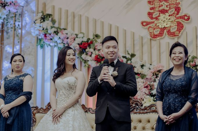 The Wedding Of Fransisca & Edi by Favor Brides - 035