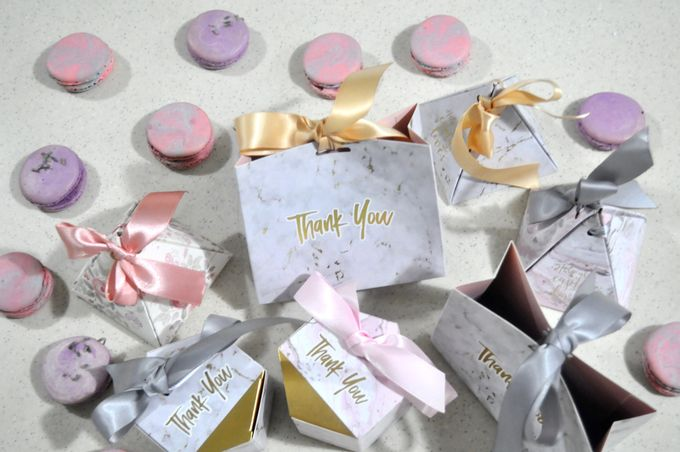 Wedding Favor  Sample Design by Amore Macarons - 003