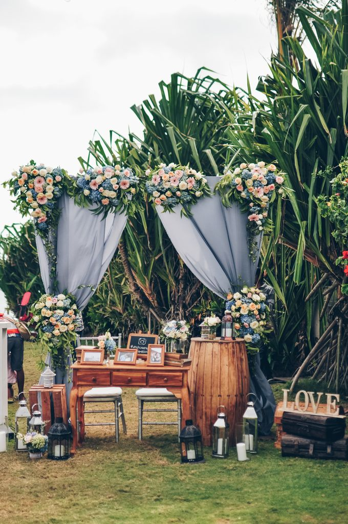 Wedding in Villa Phalosa by Bali Tie d' Knot - 011