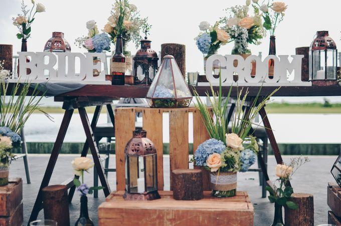 Wedding in Villa Phalosa by Bali Tie d' Knot - 013