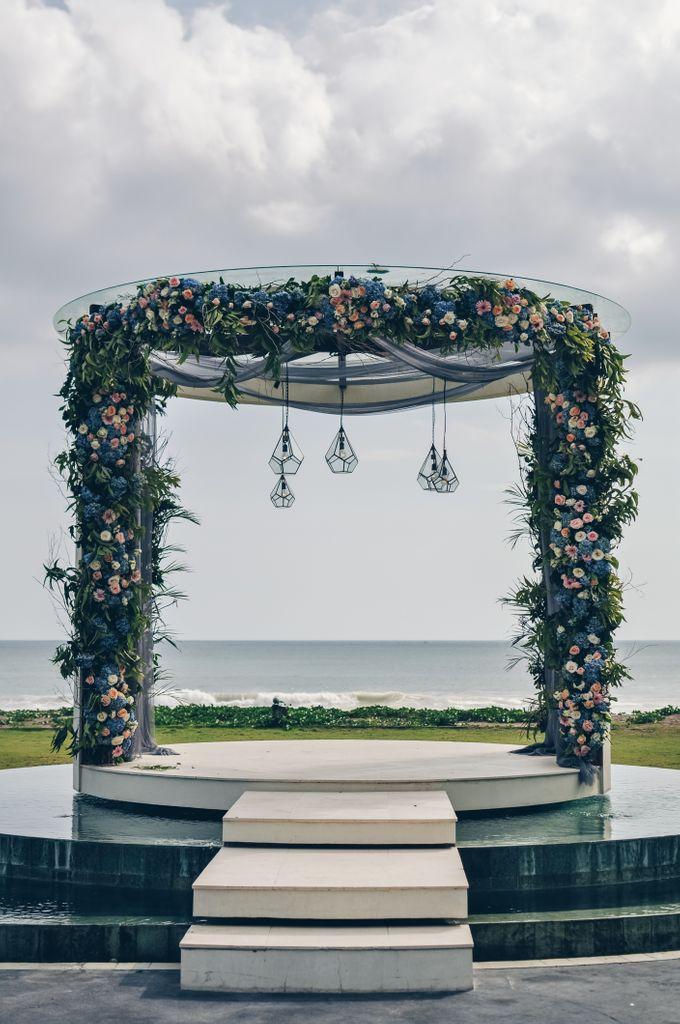 Wedding in Villa Phalosa by Bali Tie d' Knot - 009